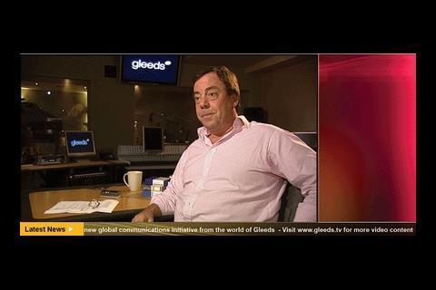 Richard Steer on Gleeds TV station